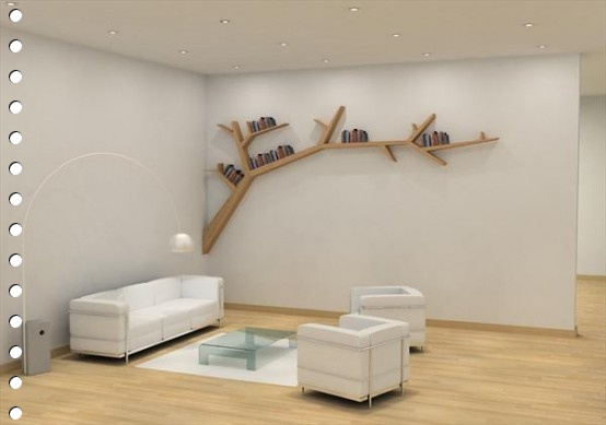 I love those tree bookshelves (2/5)